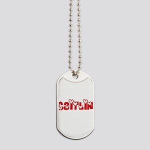 Caitlin Love Design Dog Tags