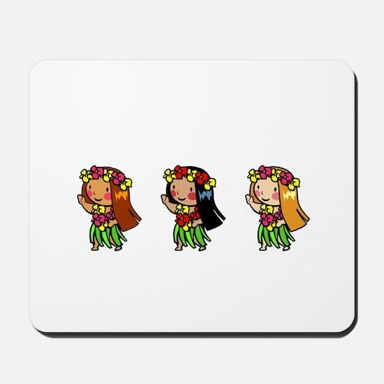 Hula Babes Mousepad