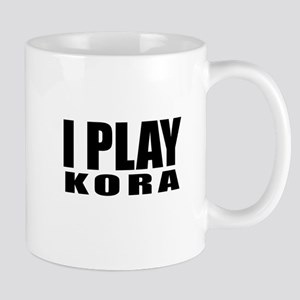 I Play Kora 11 oz Ceramic Mug