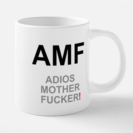 TEXTING SPEAK - - AMF ADIOS MOTHER FUCKER! Z Small