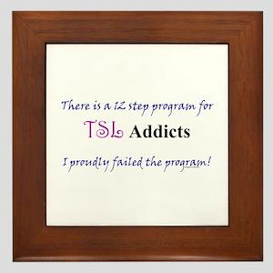 12 Step TSL Program Framed Tile
