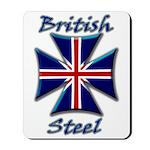 British Steel Maltese Cross Mousepad