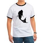 Fencing Mermaid Ringer T