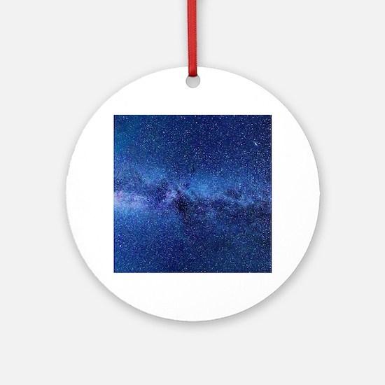 Milky Way Round Ornament