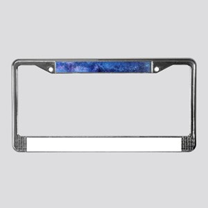 Milky Way License Plate Frame