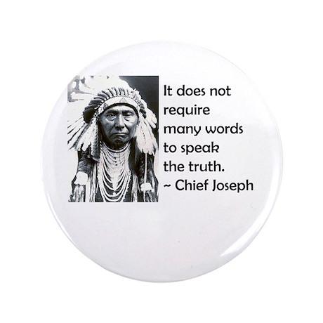 "Truth Quote 3.5"" Button"