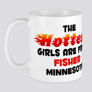 Hot Girls: Fisher, MN Mug