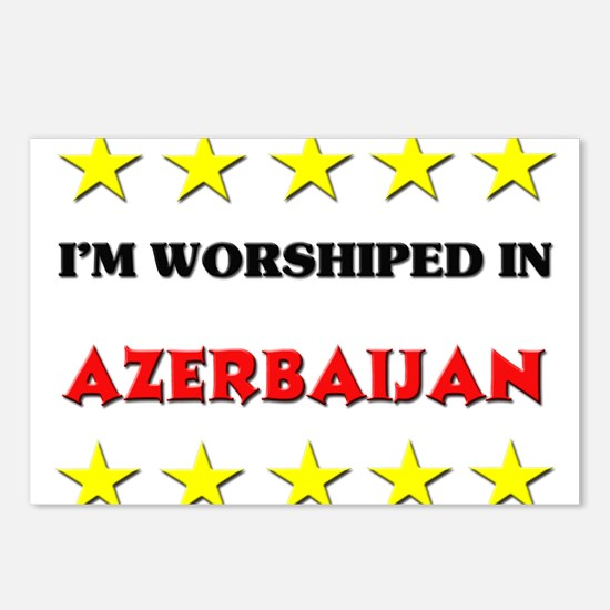 I'm Worshiped In Azerbaijan Postcards (Package of