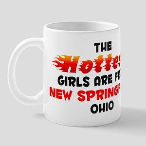 Hot Girls: New Springfi, OH Mug
