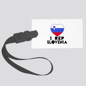I Rep Slovenia Country Large Luggage Tag