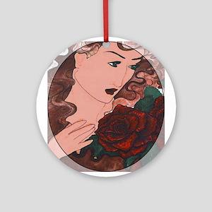 Roses Keepsake (Round)