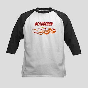 Beauceron (fire dog) Kids Baseball Jersey
