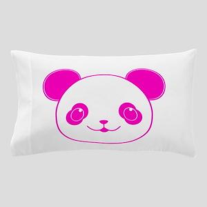 Pink Kawaii Panda Bear Pillow Case