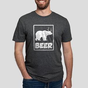 Bear + Deer = Beer Funny T-Shirt