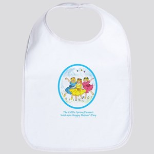 Little Spring Dancers - Mother's Day Baby Bib