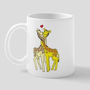 Giraffes In Love Mug