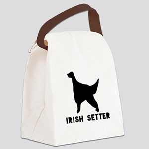 Irish Setter Dog Designs Canvas Lunch Bag