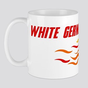 White German Shepherd (fire d Mug