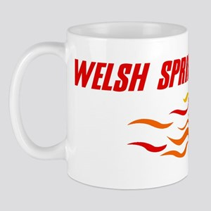 Welsh Springer Spaniel (fire  Mug