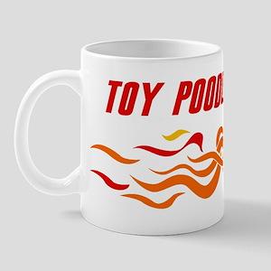 Toy Poodle (fire dog) Mug