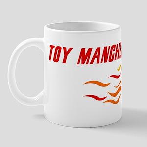 Toy Manchester Terrier (fire  Mug