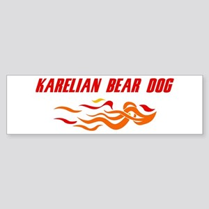 Karelian Bear Dog (fire dog) Bumper Sticker