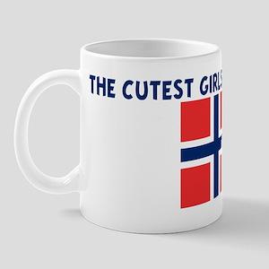 THE CUTEST GIRLS ARE NORWEGIA Mug