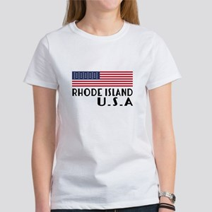 Rhode Island U.S.A State D Women's Classic T-Shirt