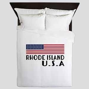 Rhode Island U.S.A State Designs Queen Duvet