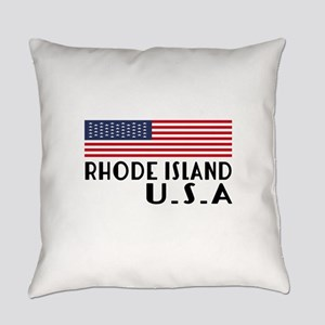 Rhode Island U.S.A State Designs Everyday Pillow