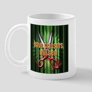 have scissors, will sew Mug