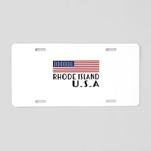 Rhode Island U.S.A State De Aluminum License Plate