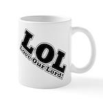 Laughing Jesus Mug