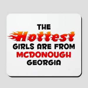 Hot Girls: Mcdonough, GA Mousepad