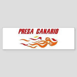 Presa Canario (fire dog) Bumper Sticker