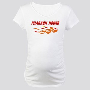 Pharaoh Hound (fire dog) Maternity T-Shirt
