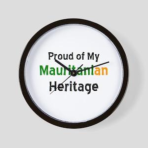 mauritanian heritage Wall Clock
