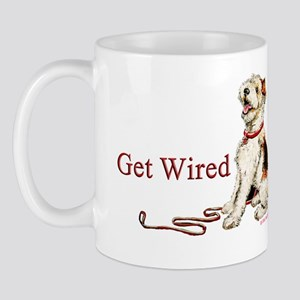 Wire Fox Terrier Dog Walk Mug