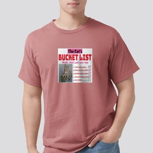 Cat's Bucket List T-Shirt
