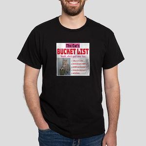 Cat's Bucket List T-Shirt