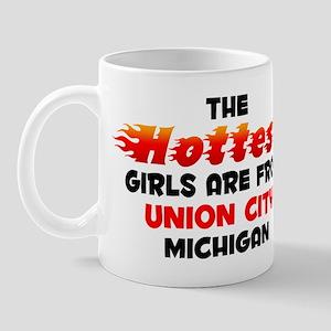 Hot Girls: Union City, MI Mug