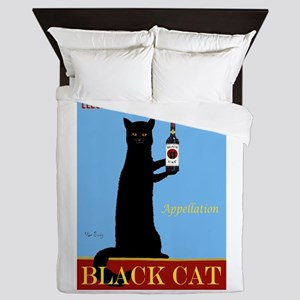 Appellation Black Cat Queen Duvet