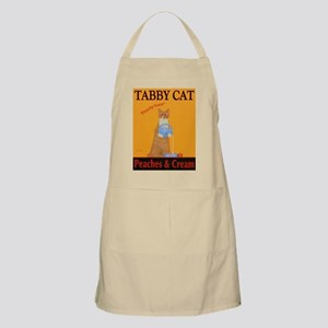 Tabby Cat Peaches and Cream Light Apron