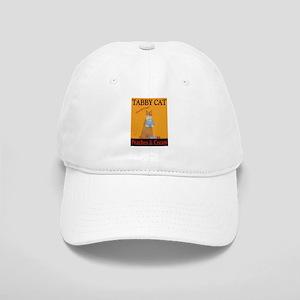 Tabby Cat Peaches and Cream Cap