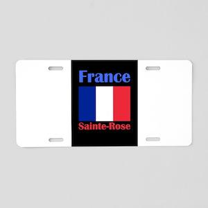 Sainte-Rose France Aluminum License Plate