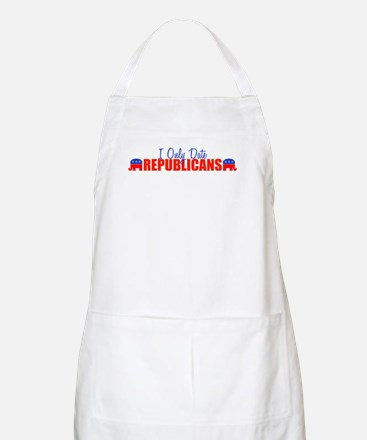 I Only Date Republicans BBQ Apron