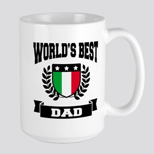 WORLD'S BEST ITALIAN DAD Mugs