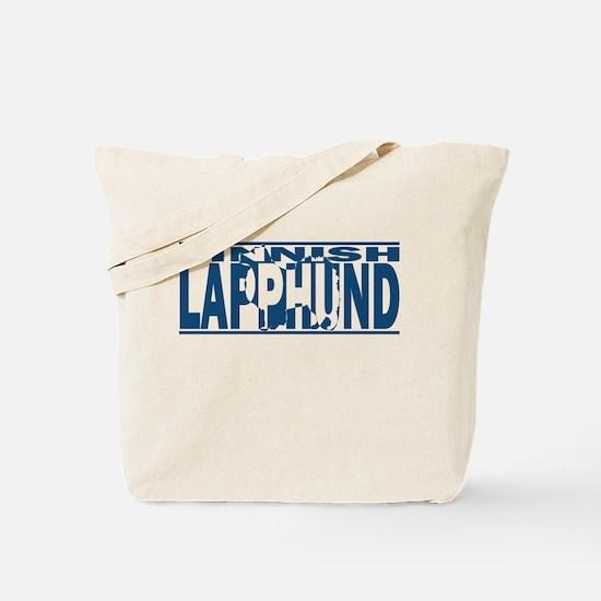 Hidden Finnish Lapphund Tote Bag