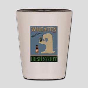 Wheaten Irish Stout Shot Glass
