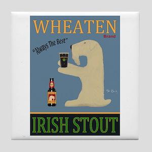 Wheaten Irish Stout Tile Coaster